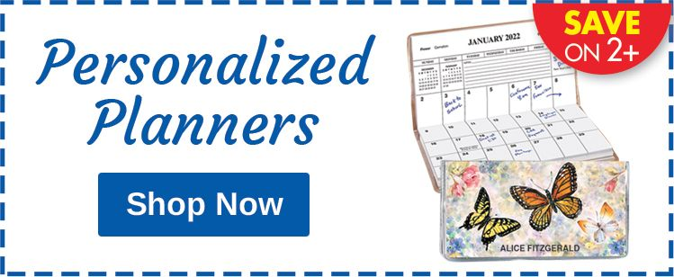 Personalized Planners - SAVE ON 2+