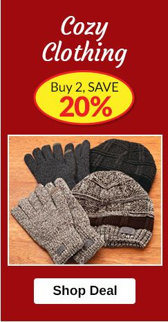 Cozy Clothing - Buy 2, SAVE 20%