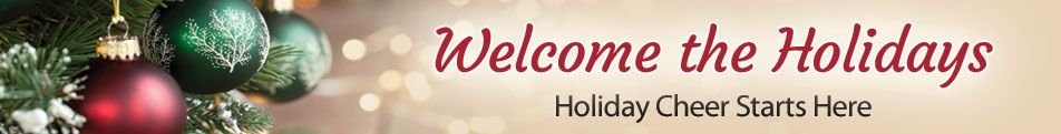Prepare for the Holidays Header
