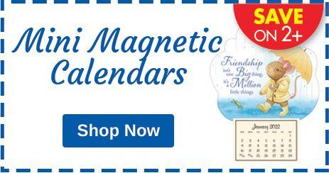 Mini Magnetic Calendars - SAVE ON 2+