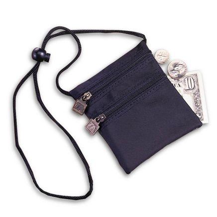 Neck Wallet-Black w/RFID-302558