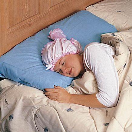 Satiny Sleep Cap-303172
