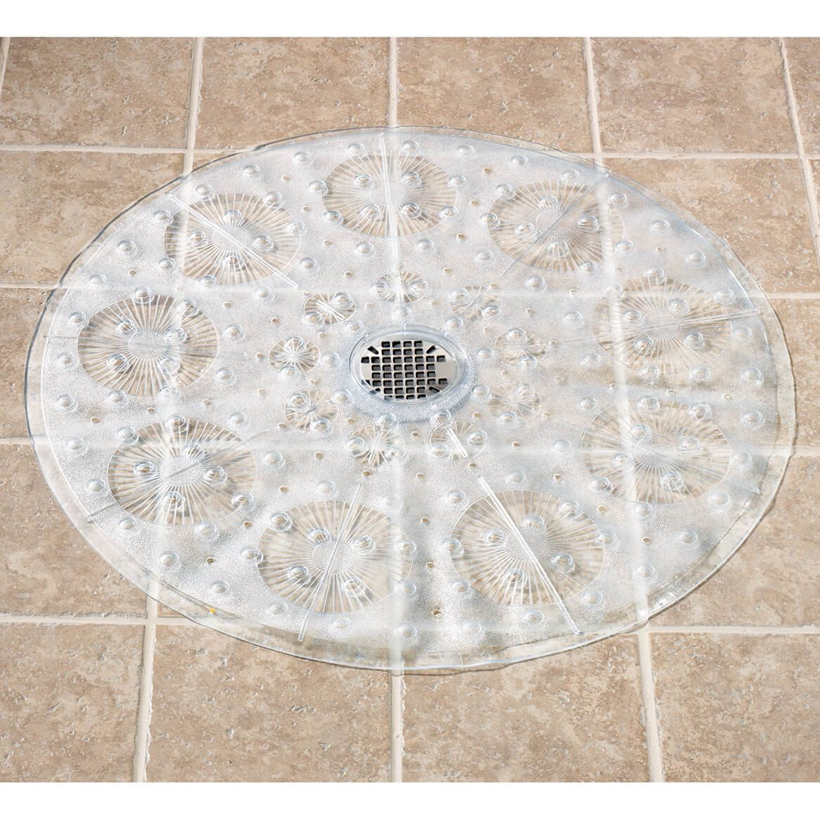 Non Slip Clear Shower Mat-303215