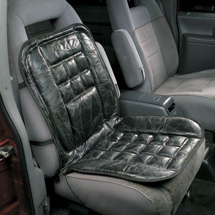 Leather Lumbar Cushion For Car-303514