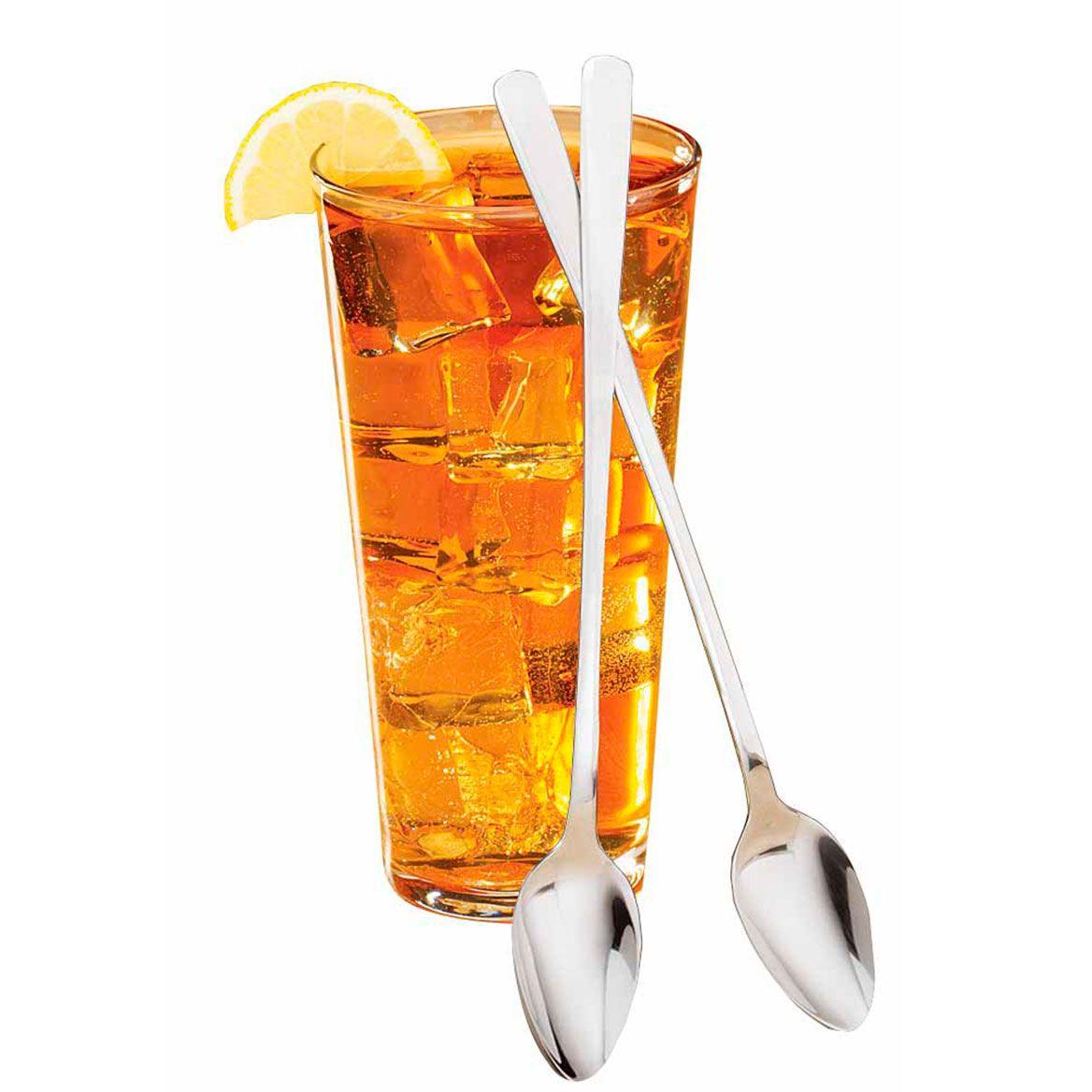 Restaurant Style Iced Tea Spoons Set of 8-304301