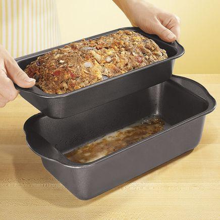 Lowfat Nonstick Meatloaf Pan-305008
