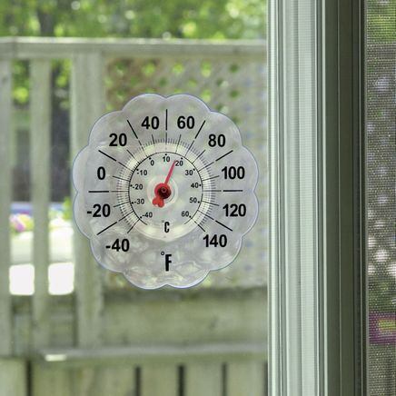 Suction Cup Window Thermometer-305557