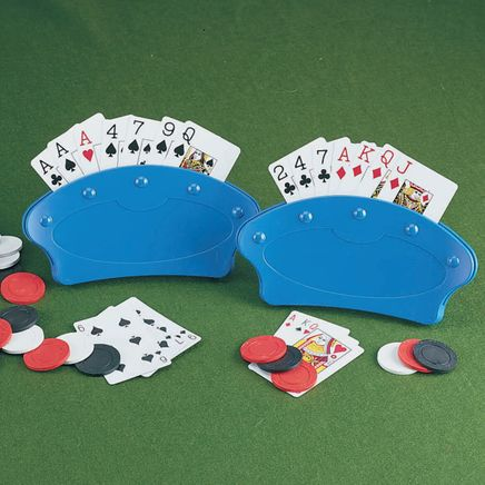 Playing Card Holders - Set Of 2-310045