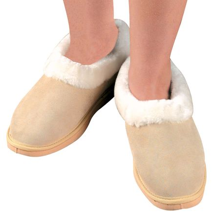 Women's Suede Slippers-311572