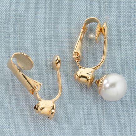 Clip On Earrings Converters - 6 Pairs-312116