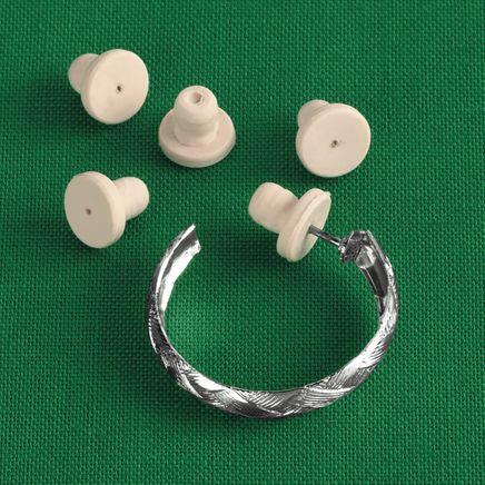 Sensitive Earring Backs, 12 Pieces-312339