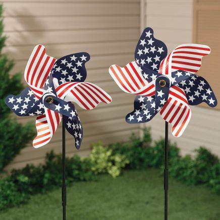 Patriotic Pinwheel - Set of 2-315356