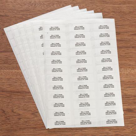 Classic Style Return Address Labels - Set of 200-320113