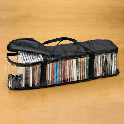 CD Storage Case with 2 Dividers-330420