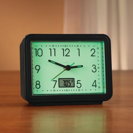 Glow In The Dark Alarm Clock-332686