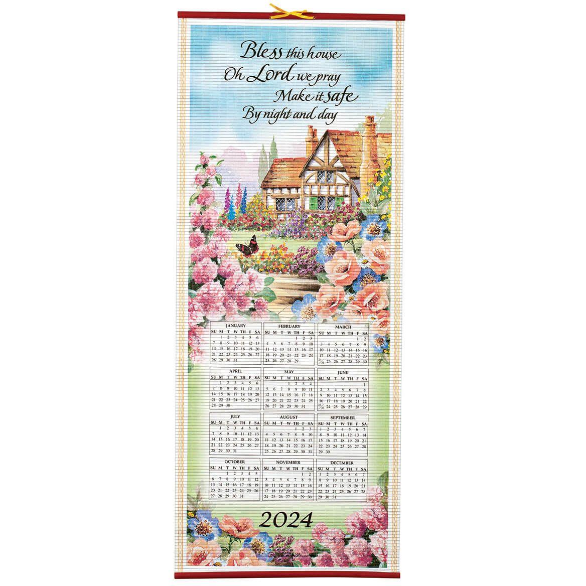 Bless This House Scroll Calendar-334604