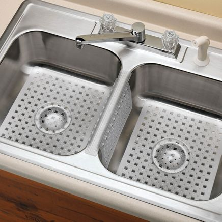 Kitchen Sink Mats And Sink Divider Mat-335380