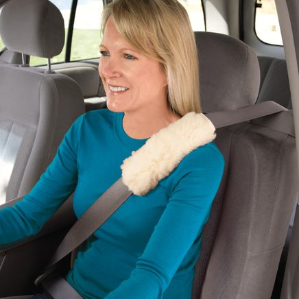 Sherpa Seat Belt Covers - Set Of 2-337136