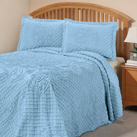 The Martha Chenille Bedspread Sham by OakRidge™-337285
