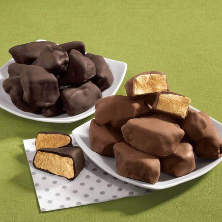 Dark Chocolate Sponge Candy 13 oz-340344