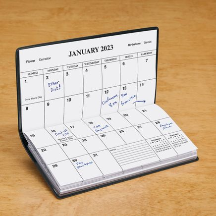 Royal Blue Personalized 2 Year Pocket Planner-342137