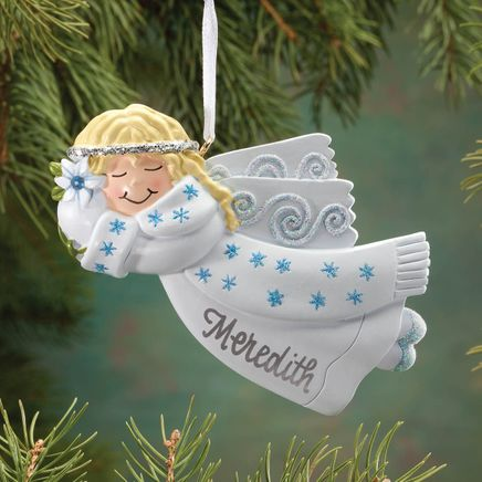 Personalized Birthstone Angel Ornament-343000