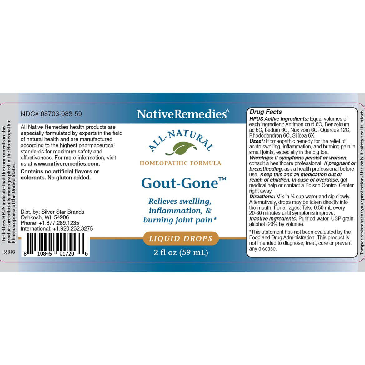 NativeRemedies® Gout-Gone™-343694