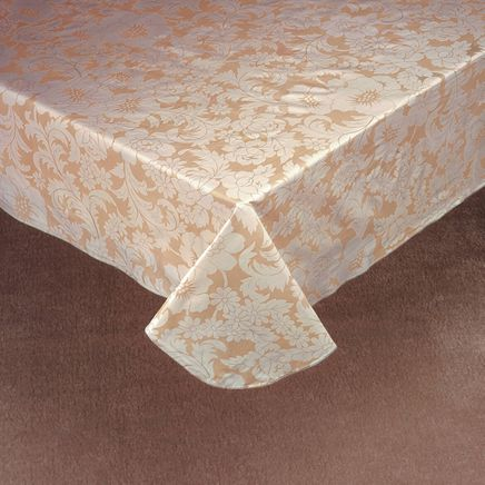 Bordeaux Floral Vinyl Table Cover-344552