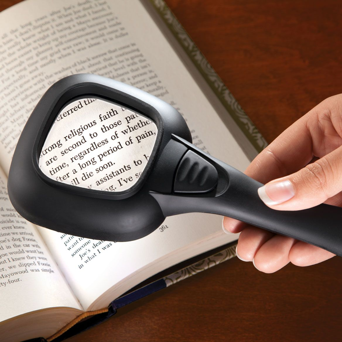 LED Hand Held Magnifier-344666