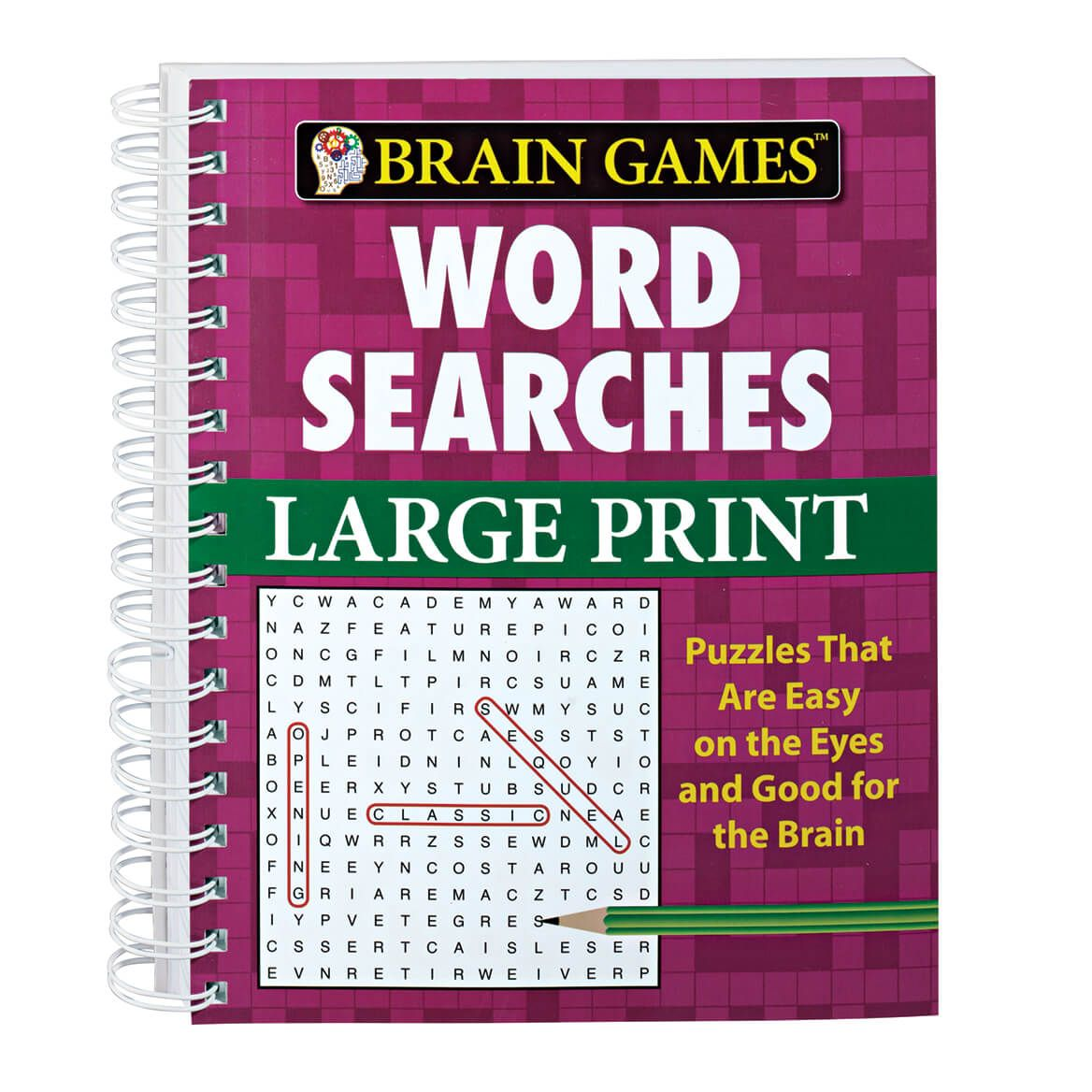 Large Print Word Search Book-345483