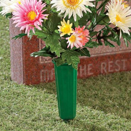 Memorial Cemetery Vases, Set of 2-347071