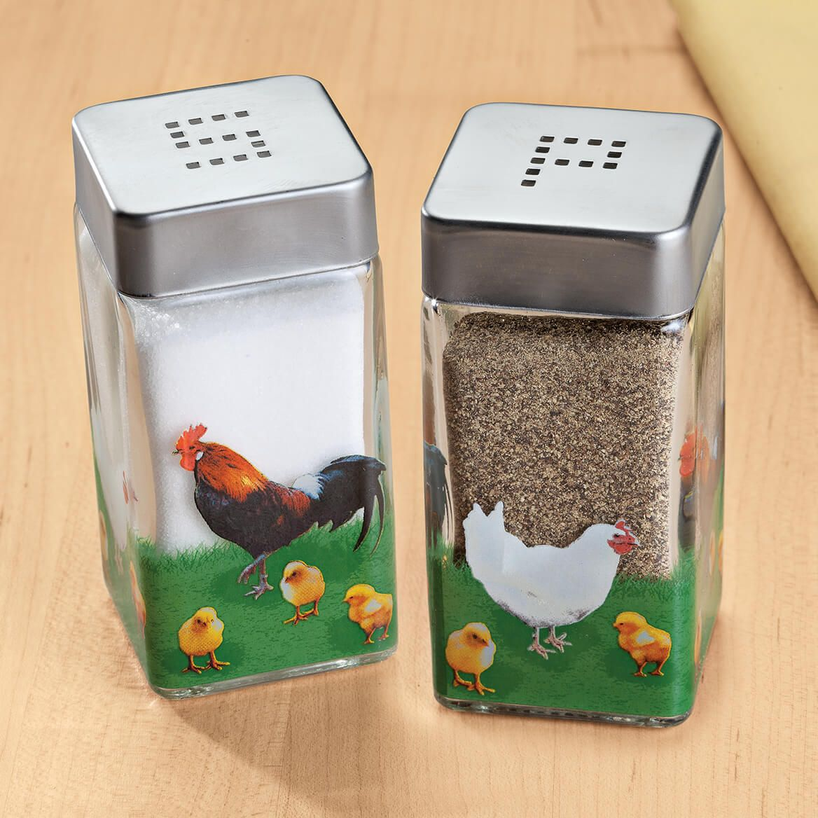 Rooster Salt and Pepper Shakers-348800