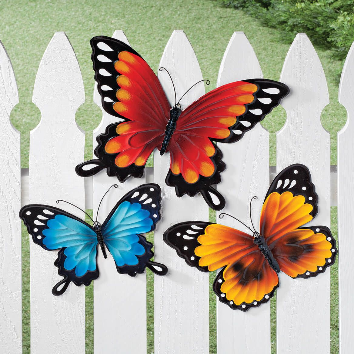 Metal Butterflies, Set of 3 by Fox River™ Creations-348813