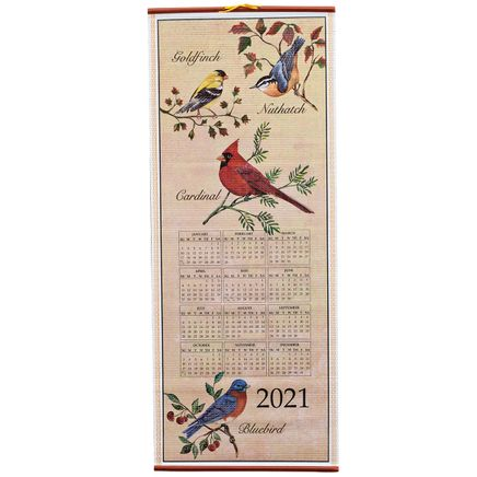 Songbirds Scroll Calendar-348923
