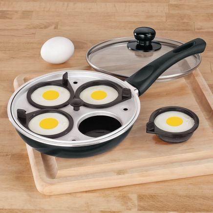Frying Pan With Egg Poacher Insert-349130