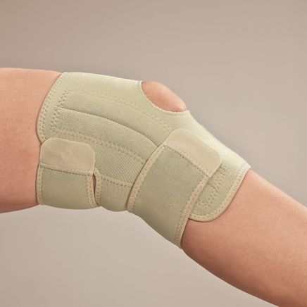 Bamboo Knee Support With Stabilizer-349196