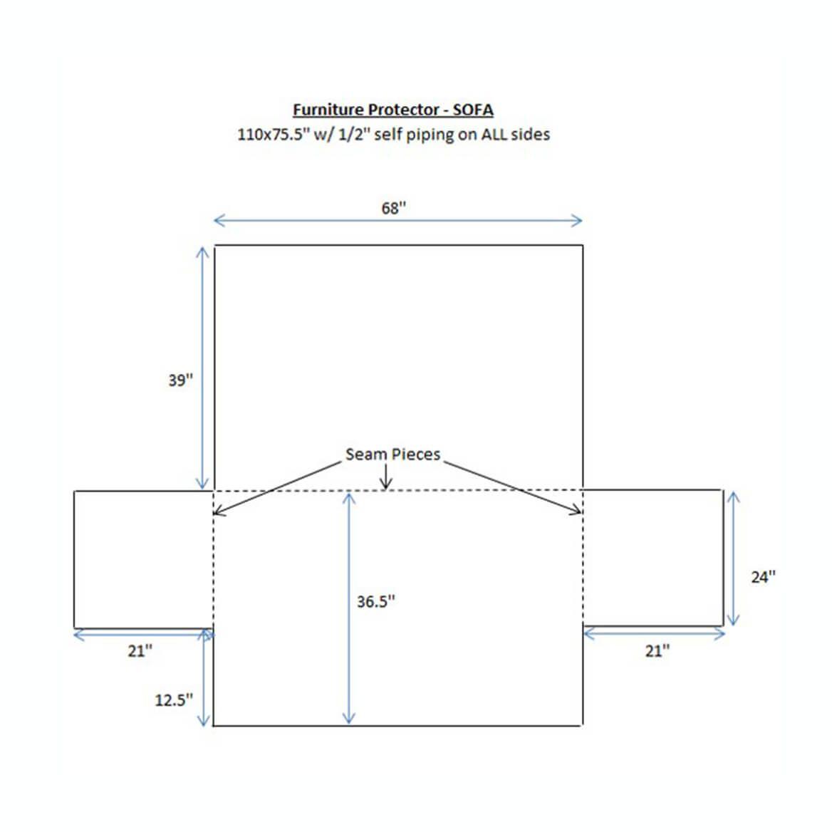 Puff Sofa Furniture Protector-349611