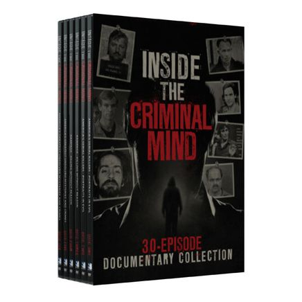 Inside the Criminal Mind: 30-Episode Documentary DVD set-349917