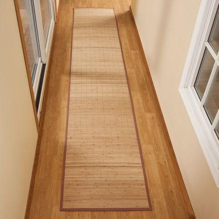 "Bamboo Floor Runner - 23"" x 118""-350457"