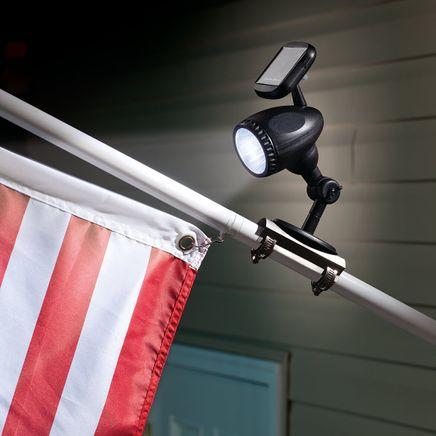 Solar Flag Pole Light-350773