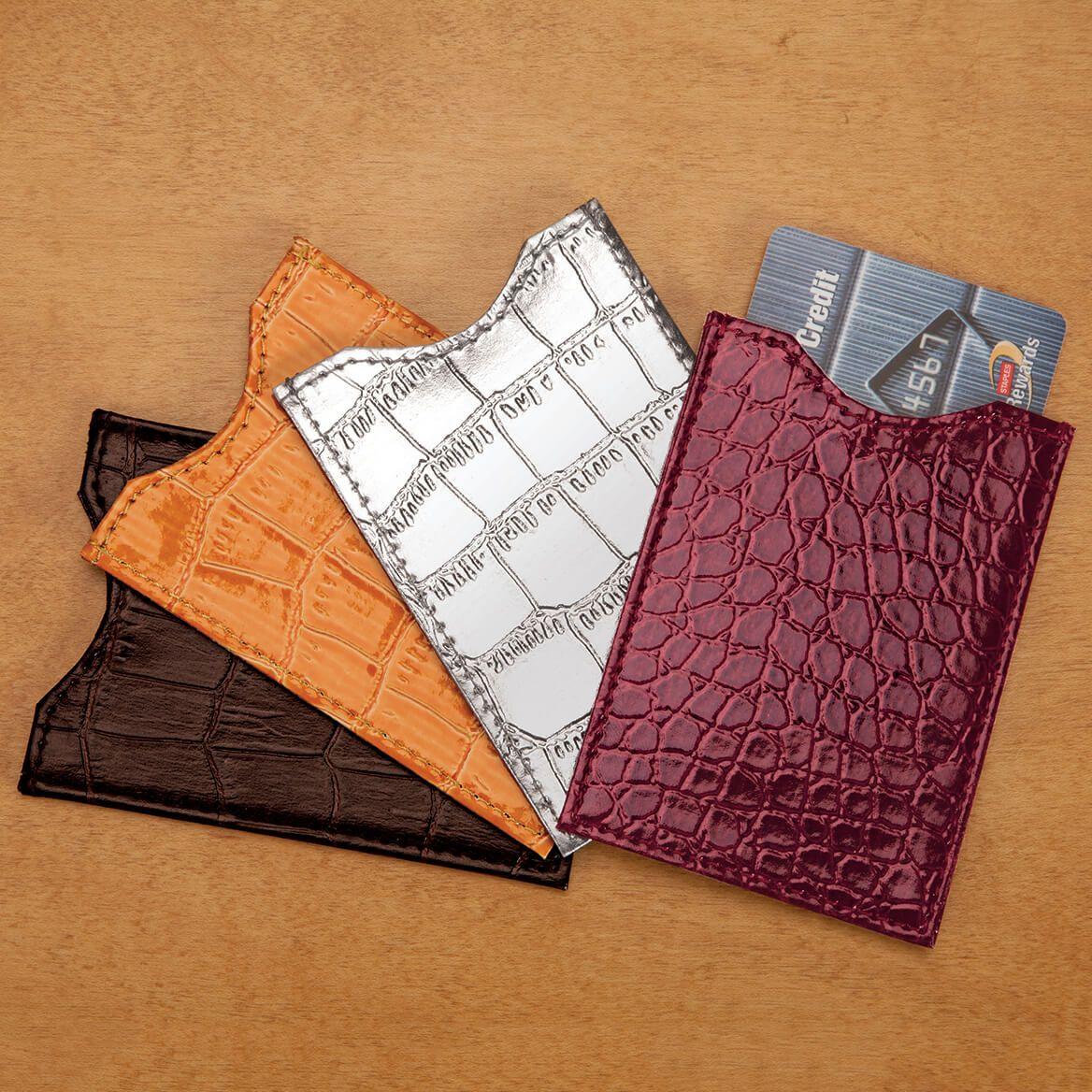 Neutral RFID Sleeves Set of 4-350847