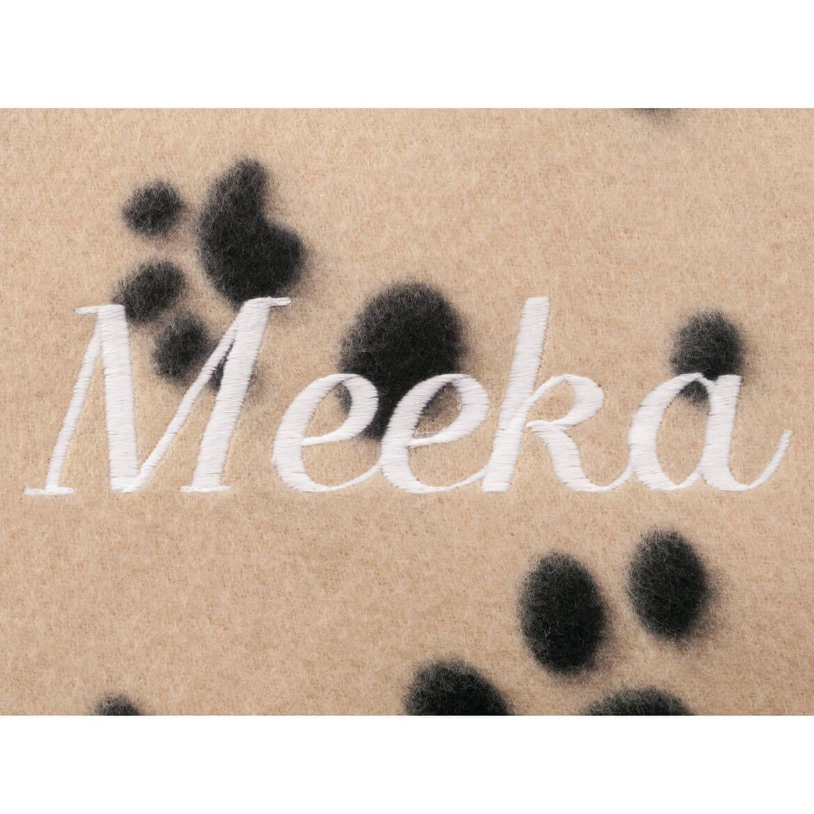 Personalized Paw Print Pet Blanket-351600