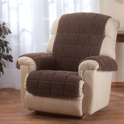 Waterproof Quilted Sherpa Recliner Protector by OakRidge™-351693