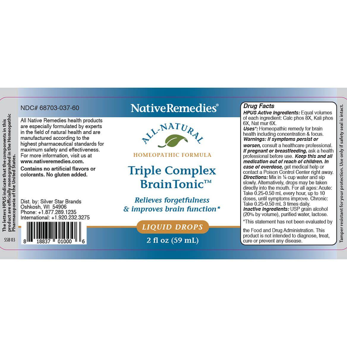 NativeRemedies® Triple Complex Brain Tonic™-351845