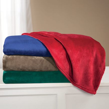 Oversized Plush Blanket by OakRidge™-352432