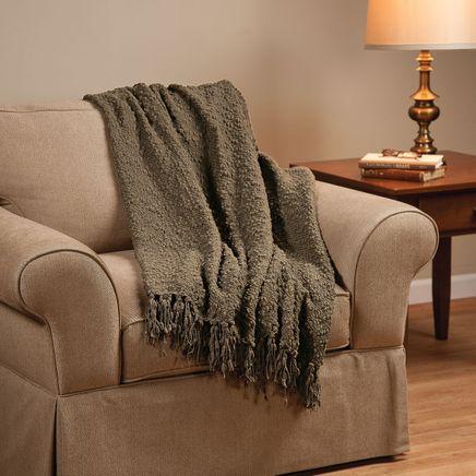 The PomPom Yarn Throw by OakRidge™-352436