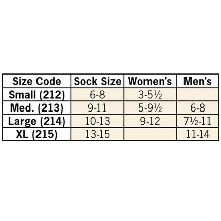 Silver Steps™ Compression Socks 8–15 mmHg-354137
