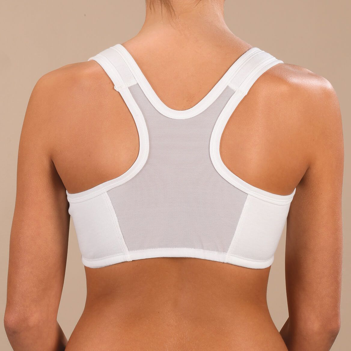 Easy Comforts Style™ Front Zip Mesh Back Bra-354462