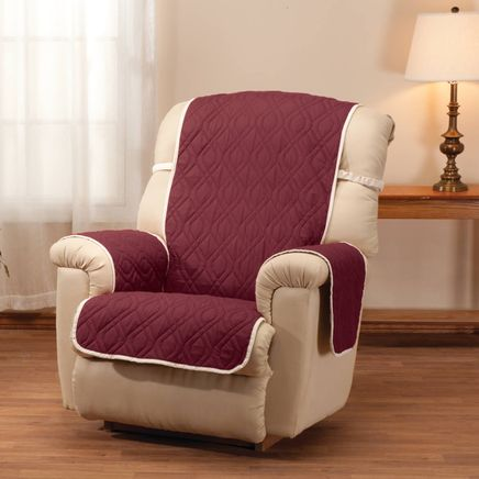 Deluxe Reversible Waterproof Recliner Chair Cover-355161