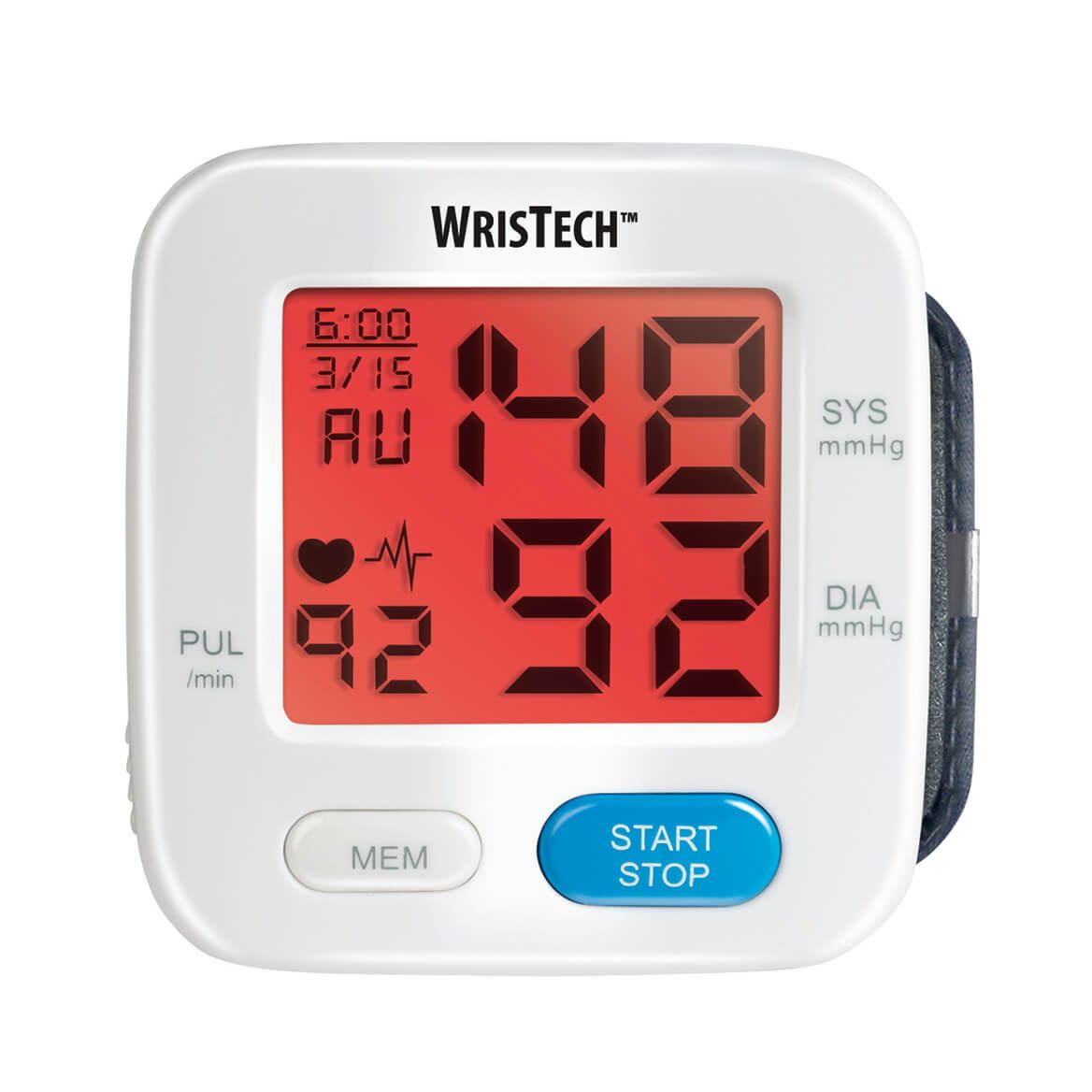 Color Changing Wrist Blood Pressure Monitor-355203
